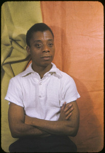 James Baldwin, 1955, photo by Carl Van Vecthen
