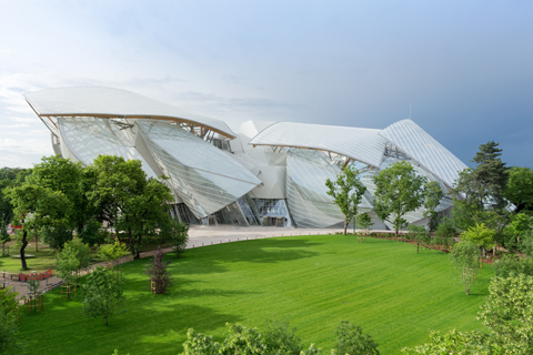 14. The Fondation Louis Vuitton © Iwan Baan