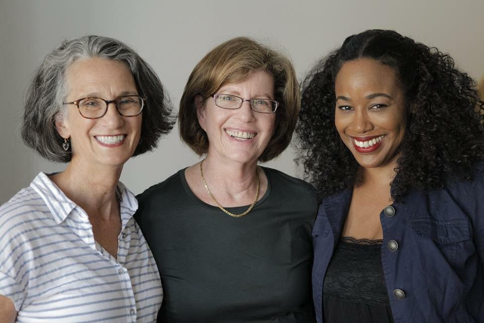 Janet Goldwater, Barbara Attie and Sabrina Schmidt Gordon